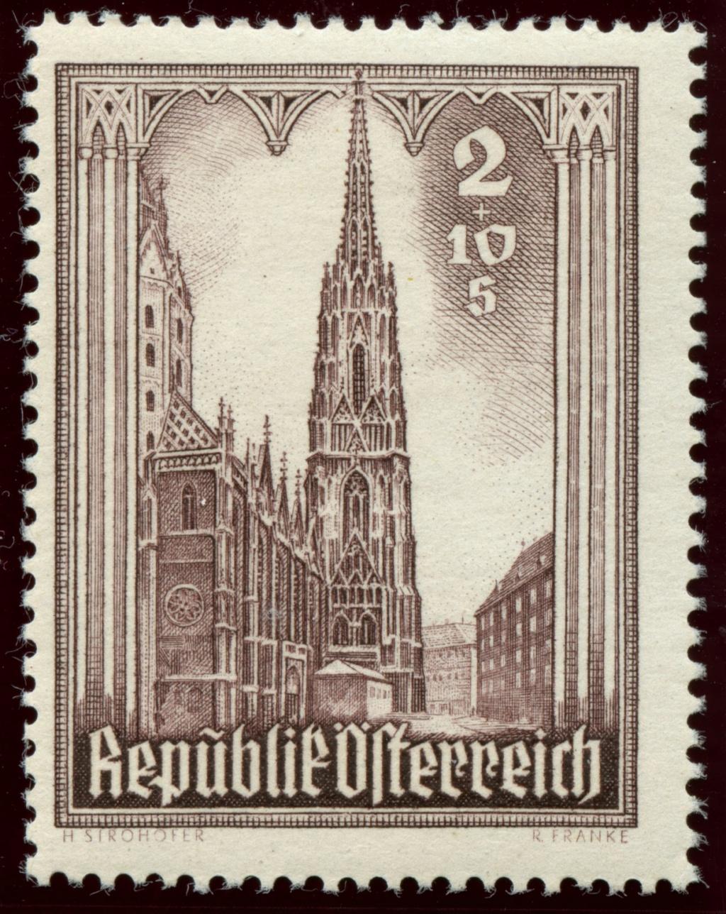 Briefmarken - Österreich, Briefmarken der Jahre 1945-1949 Ank_8017
