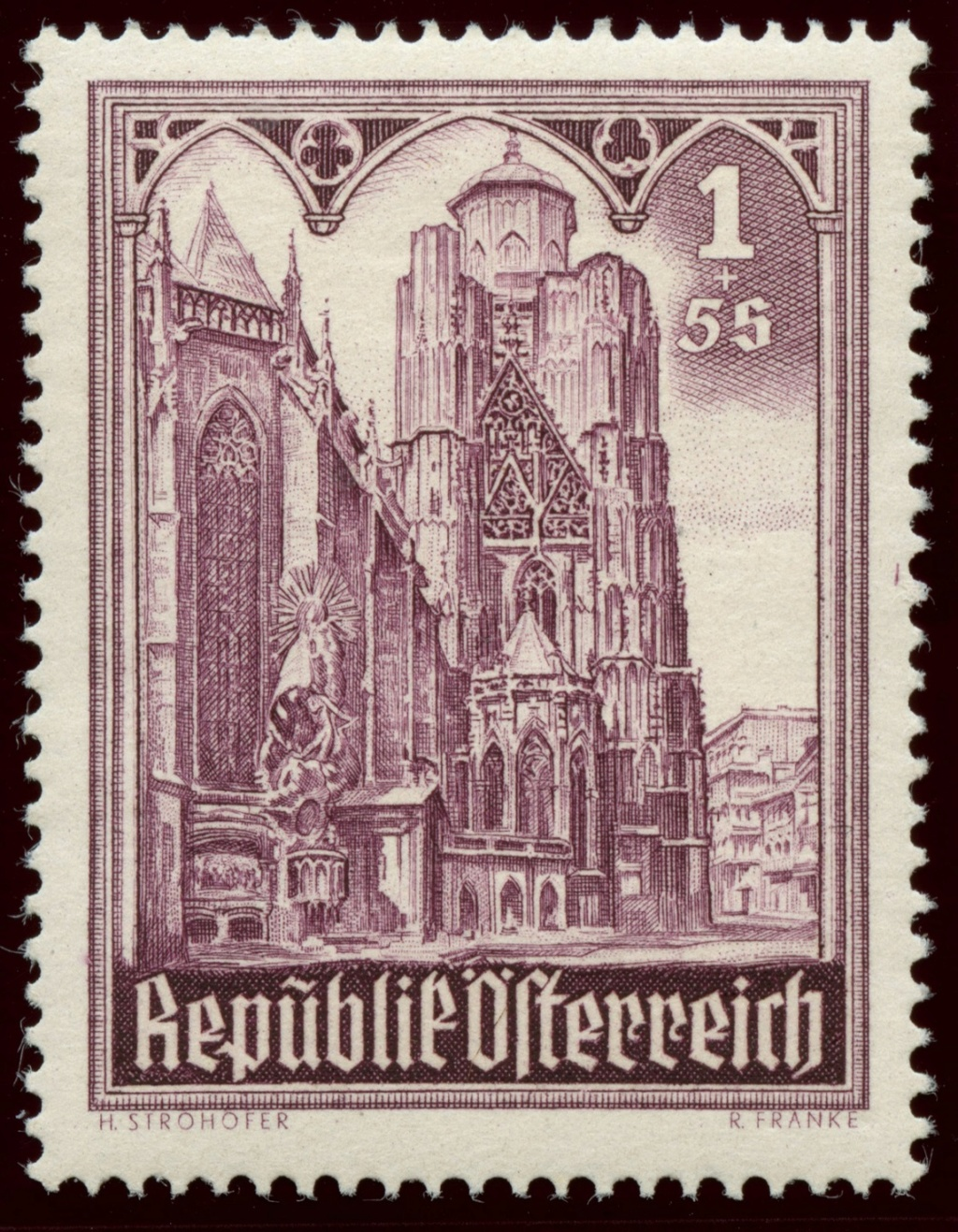 Briefmarken - Österreich, Briefmarken der Jahre 1945-1949 Ank_8018