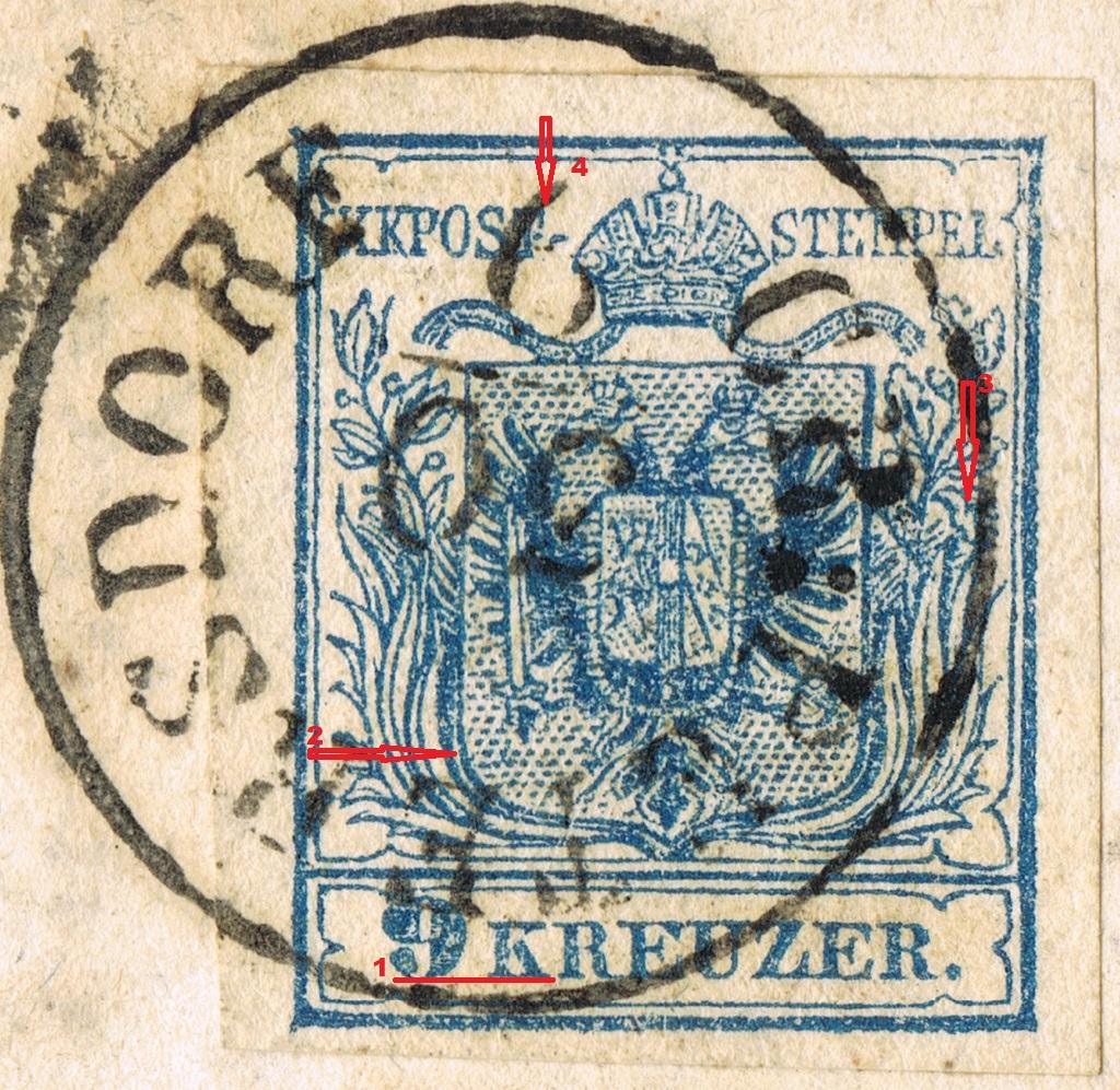 Die erste Österreichische Ausgabe 1850 - Seite 21 Grps1010