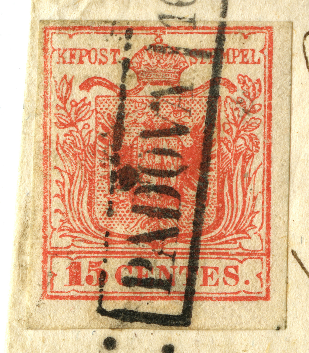 Briefmarken - Lombardei - Venetien 1850 - 1858 - Seite 5 Img27610