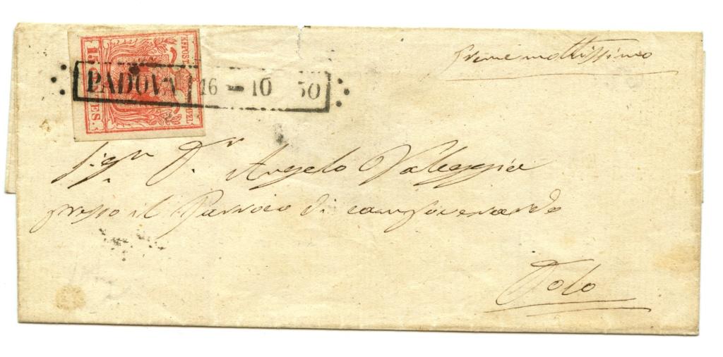 Briefmarken - Lombardei - Venetien 1850 - 1858 - Seite 5 Img27710