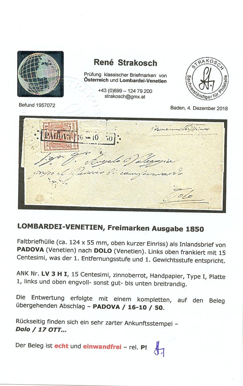 Briefmarken - Lombardei - Venetien 1850 - 1858 - Seite 5 Img70710
