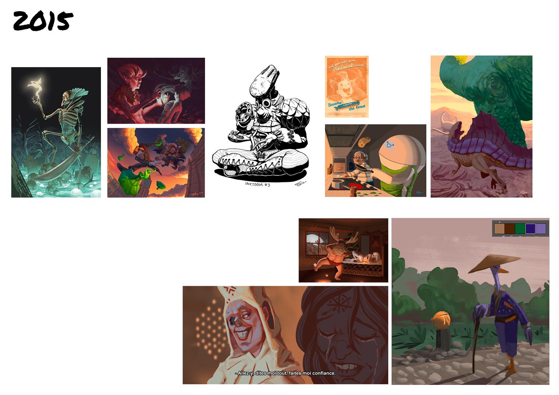 [inspi] Timeline - vos vieux dessins - Page 4 201510