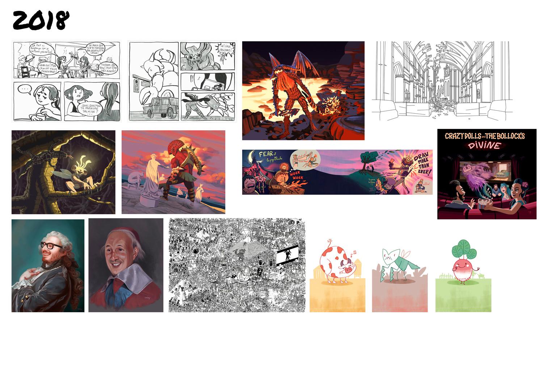 [inspi] Timeline - vos vieux dessins - Page 4 201810