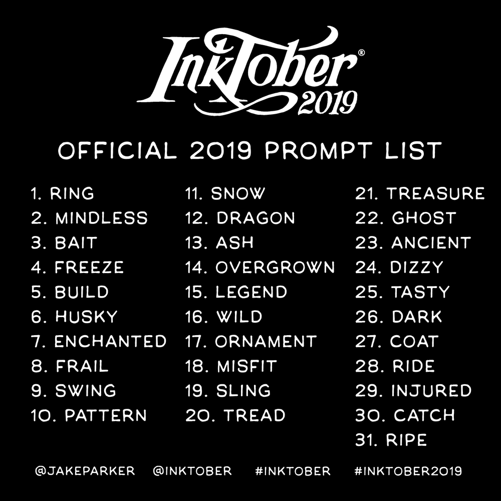 Inktober 2019 2019pr10