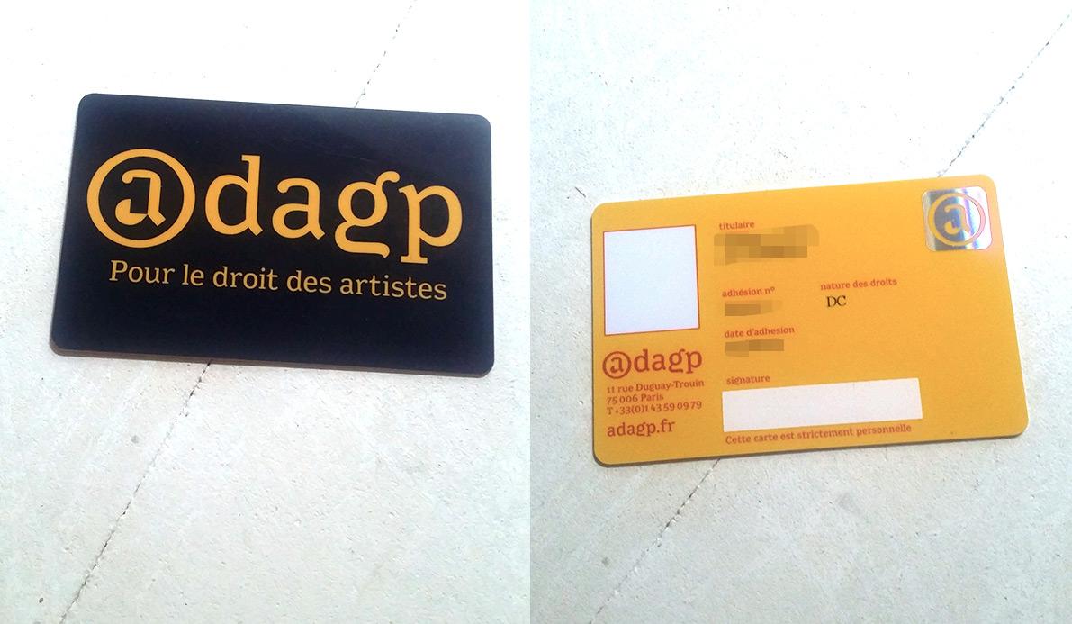 droit d'auteur géré par ADAGP et la SOFIA Ada10