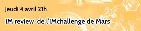 IM challenge mars - Blizzard brawl 2D Bannie24