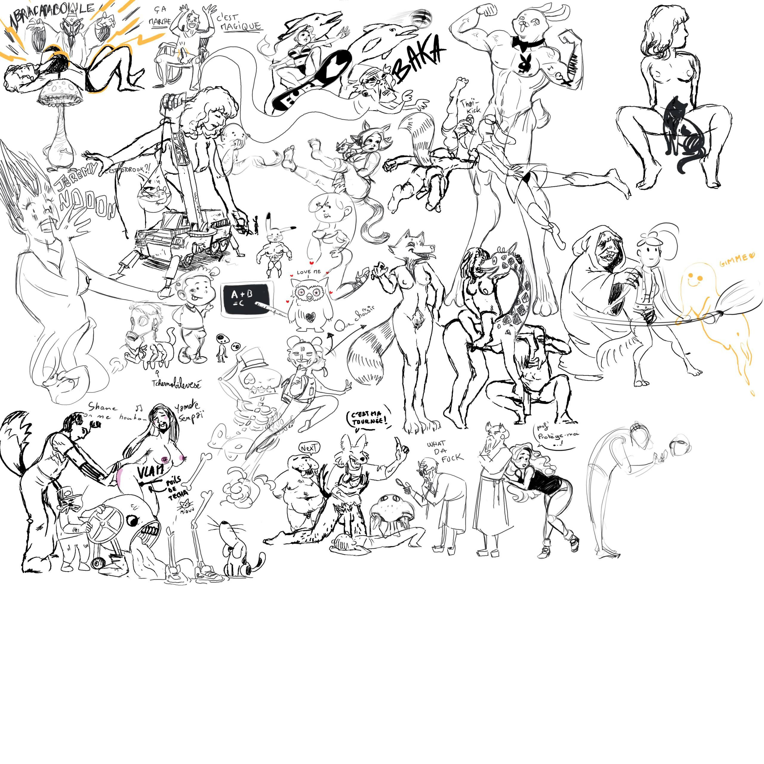 [nsfw]Drawpile : logiciel de dessin partagé Drawpi11