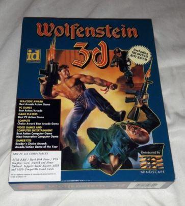 EST. WOLFENSTEIN 3D IBM PC W3d10