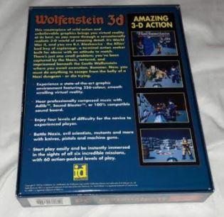 EST. WOLFENSTEIN 3D IBM PC W3d210