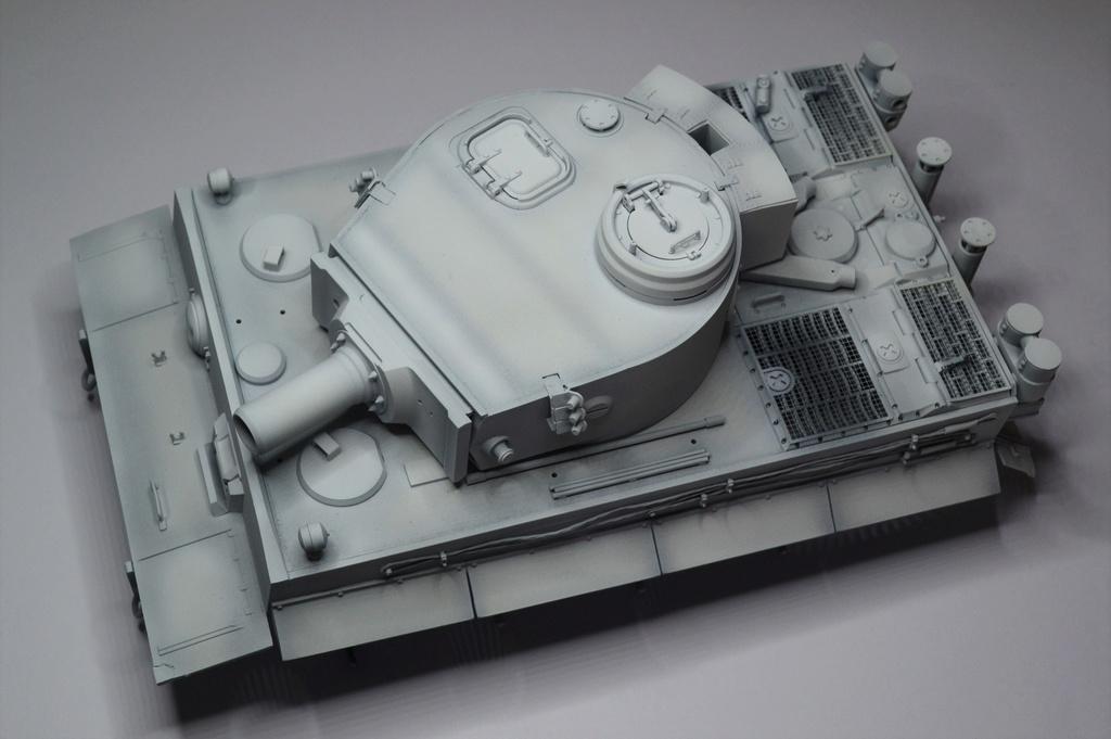 tiger - Tiger 1 early production Tamiya 1/25  - Page 2 10