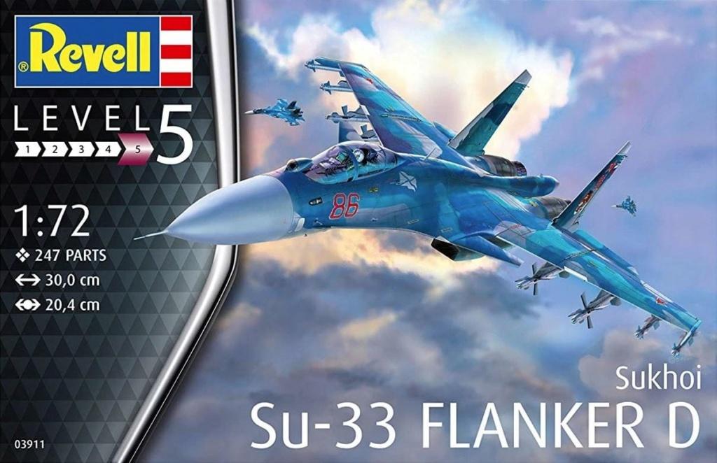 SU 33 FLANKER D RUSSIAN NAVY 1/72 Revell . 11196910