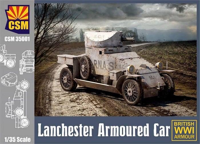 Lanchester 1/35 Copper State Models  42641310
