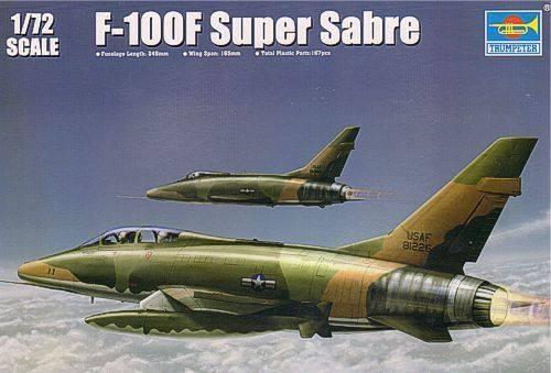Super Sabre F-100 F 1/72 Trumpeter 52161610