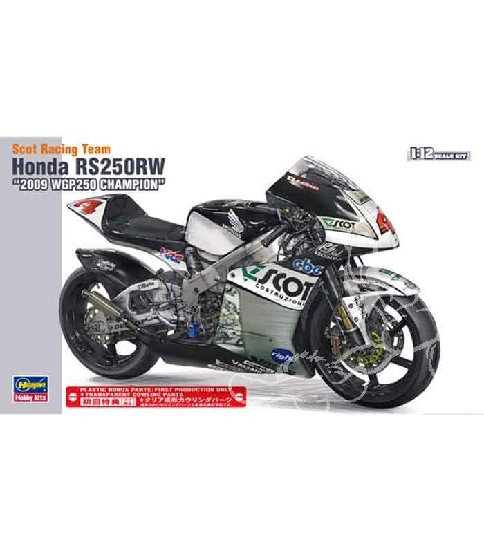 Honda RS 250 RW 1/12 Hasegawa.+ details set de Top Studio . 57009110