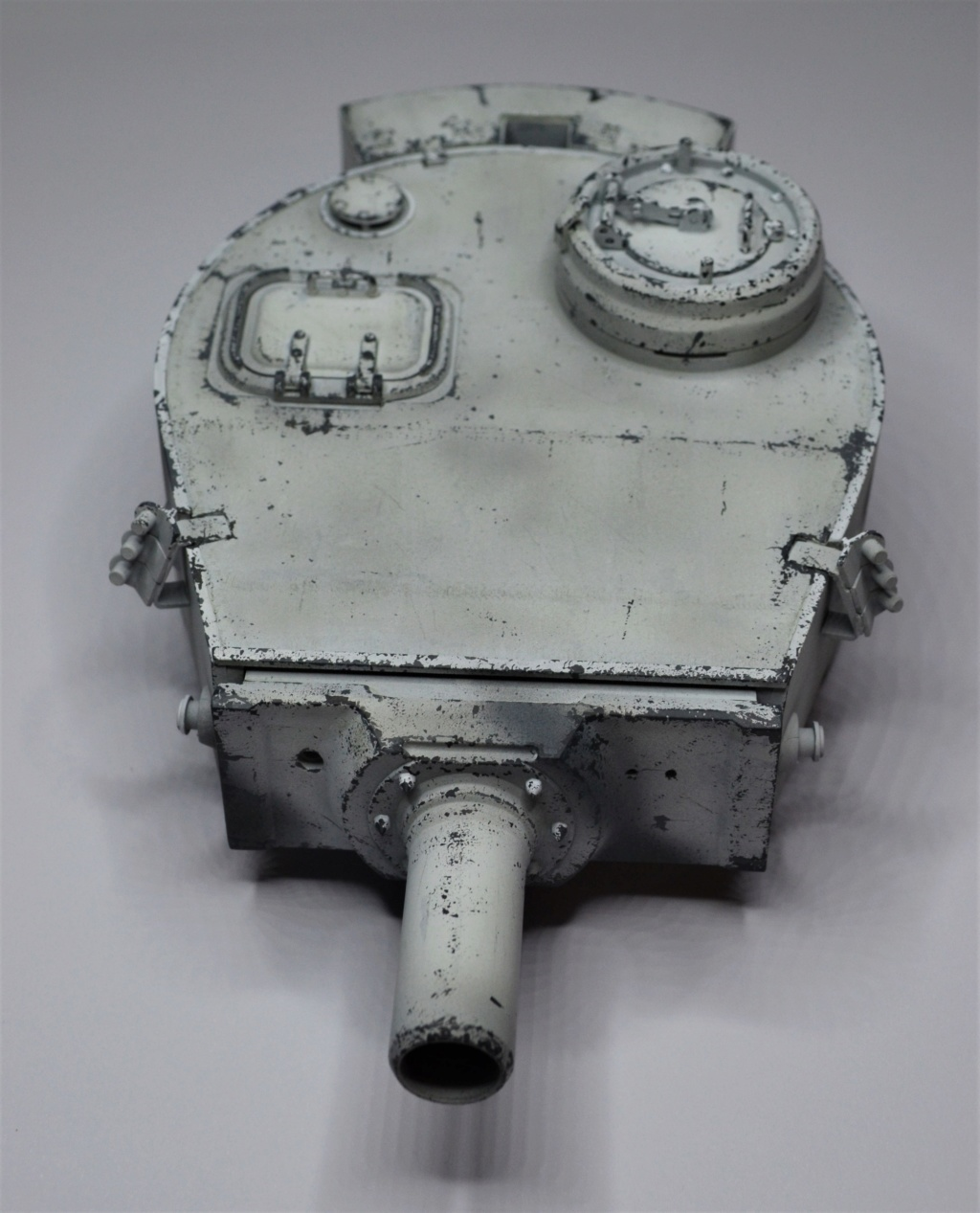 tiger - Tiger 1 early production Tamiya 1/25  - Page 2 Dsc_0028