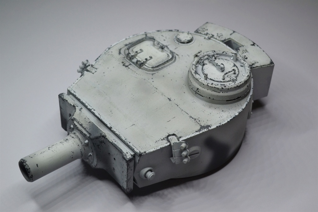 tiger - Tiger 1 early production Tamiya 1/25  - Page 2 Dsc_0032