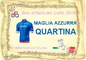 VINCITORI GIRO D'ITALIA DEL LOTTO:PLASID-17//71-QUARTINA-PIERO Pergam22
