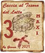 VINCITORI Caccia al tesoro del Lotto 2021 QUARTINA, PIERO, MAXI Premio11