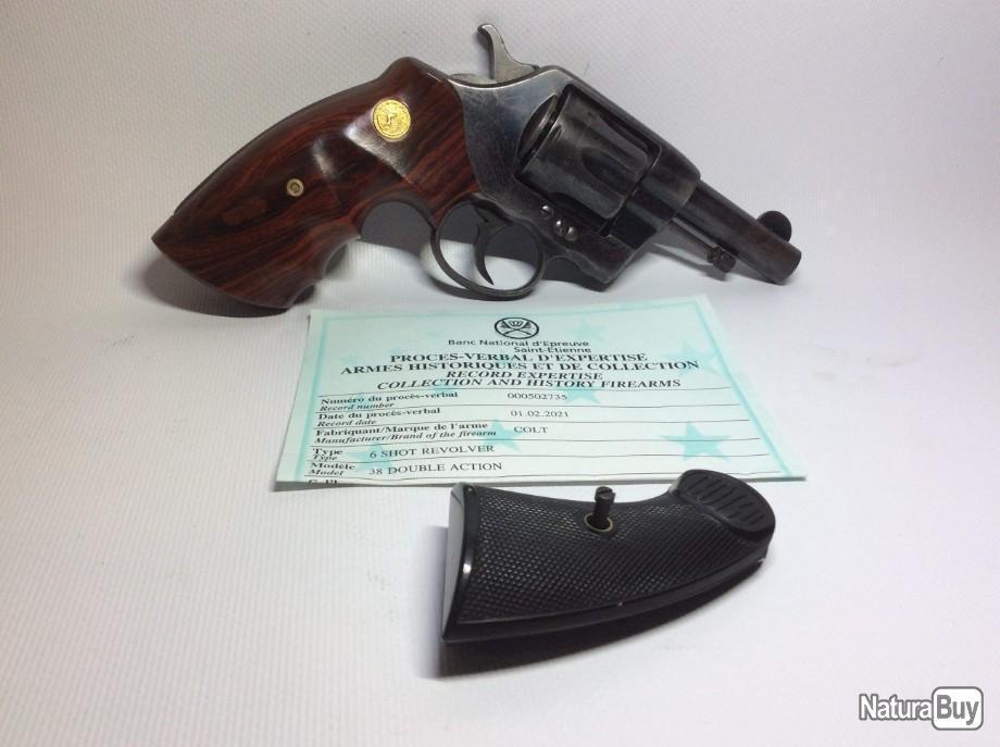 Poignée Colt 1895 00032_10
