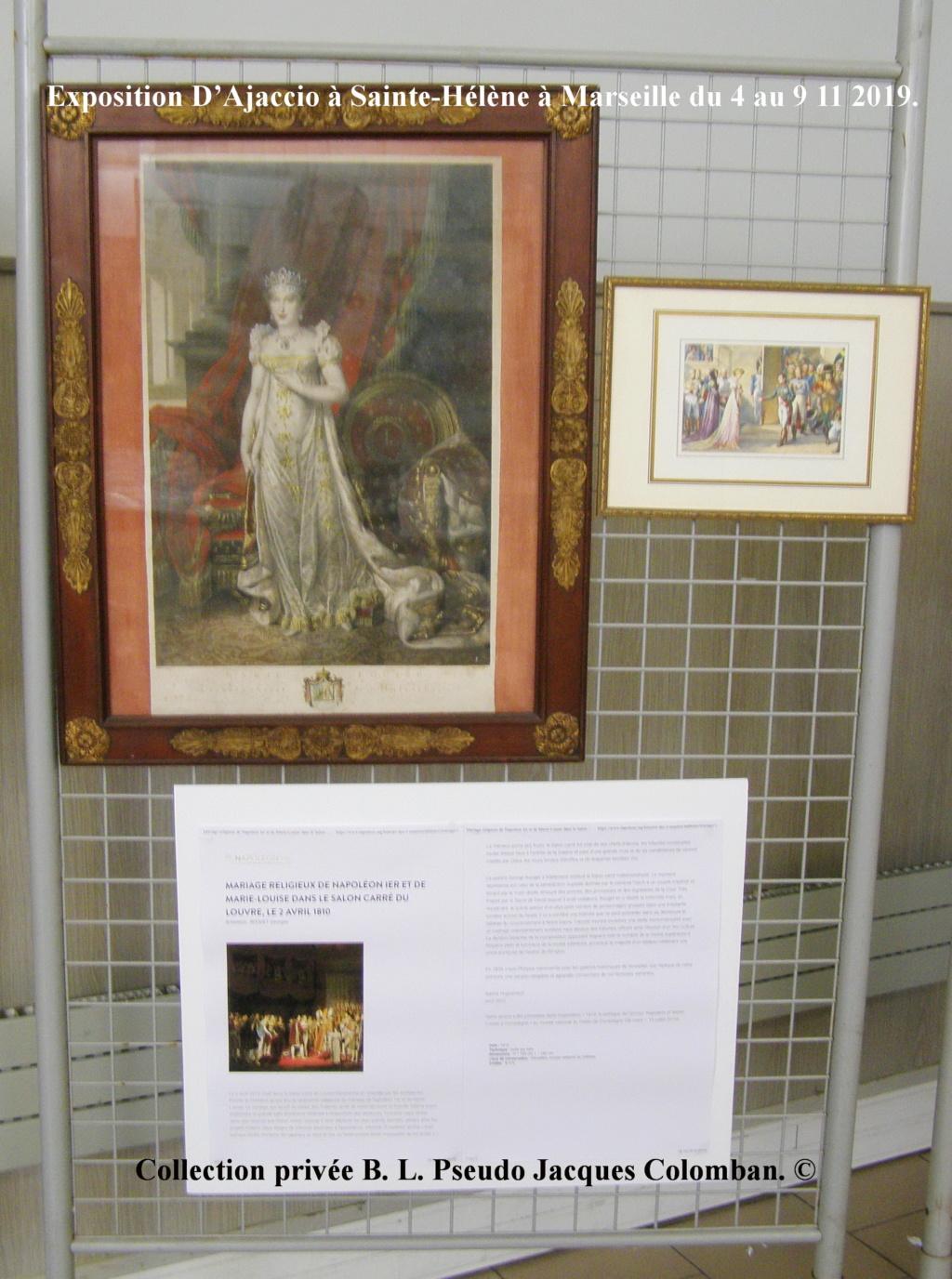 Exposition D'Ajaccio à Sainte-Hélène à Marseille. 1010