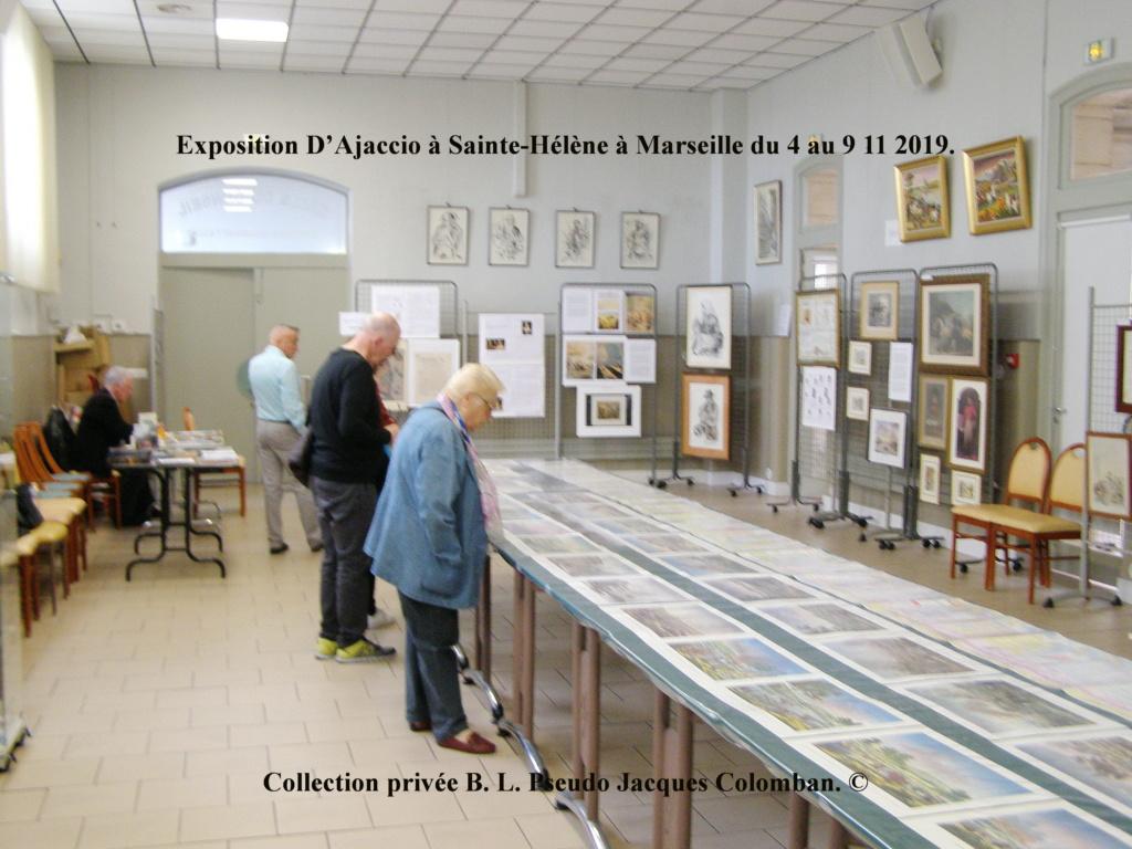 Exposition D'Ajaccio à Sainte-Hélène à Marseille. 110