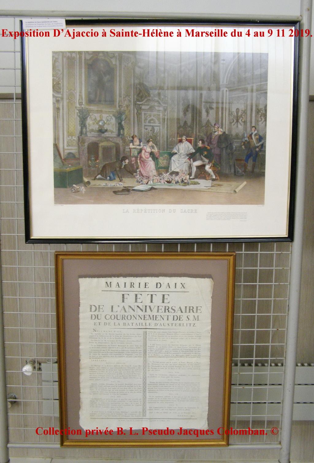 Exposition D'Ajaccio à Sainte-Hélène à Marseille. 1110