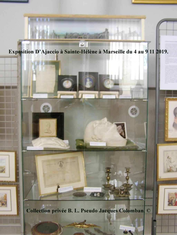 Exposition D'Ajaccio à Sainte-Hélène à Marseille. 1310
