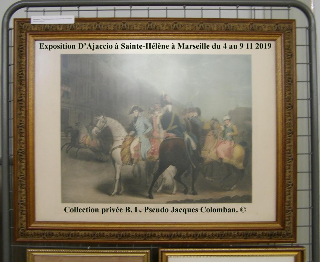 Exposition D'Ajaccio à Sainte-Hélène à Marseille. 1610