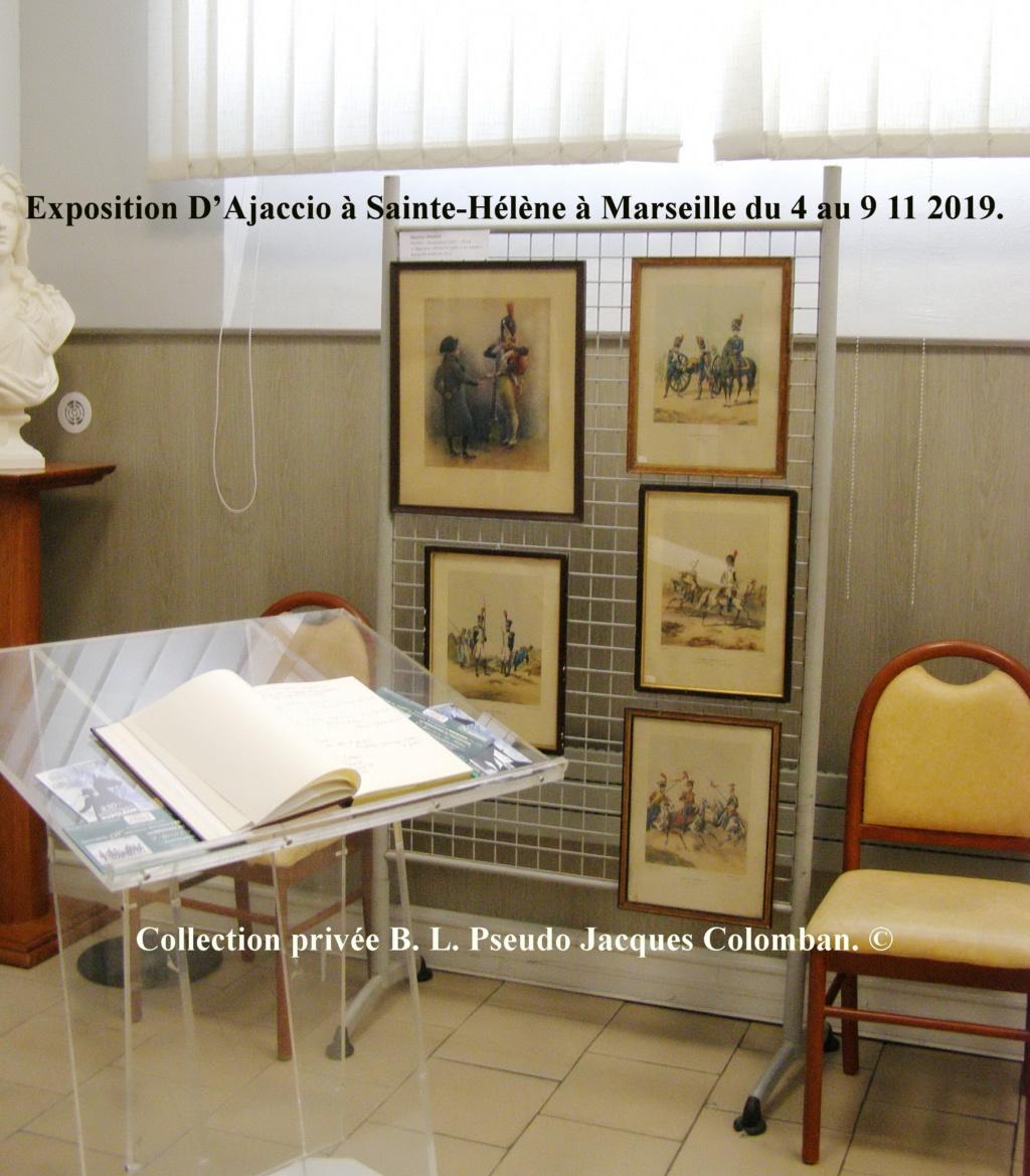 Exposition D'Ajaccio à Sainte-Hélène à Marseille. 2010