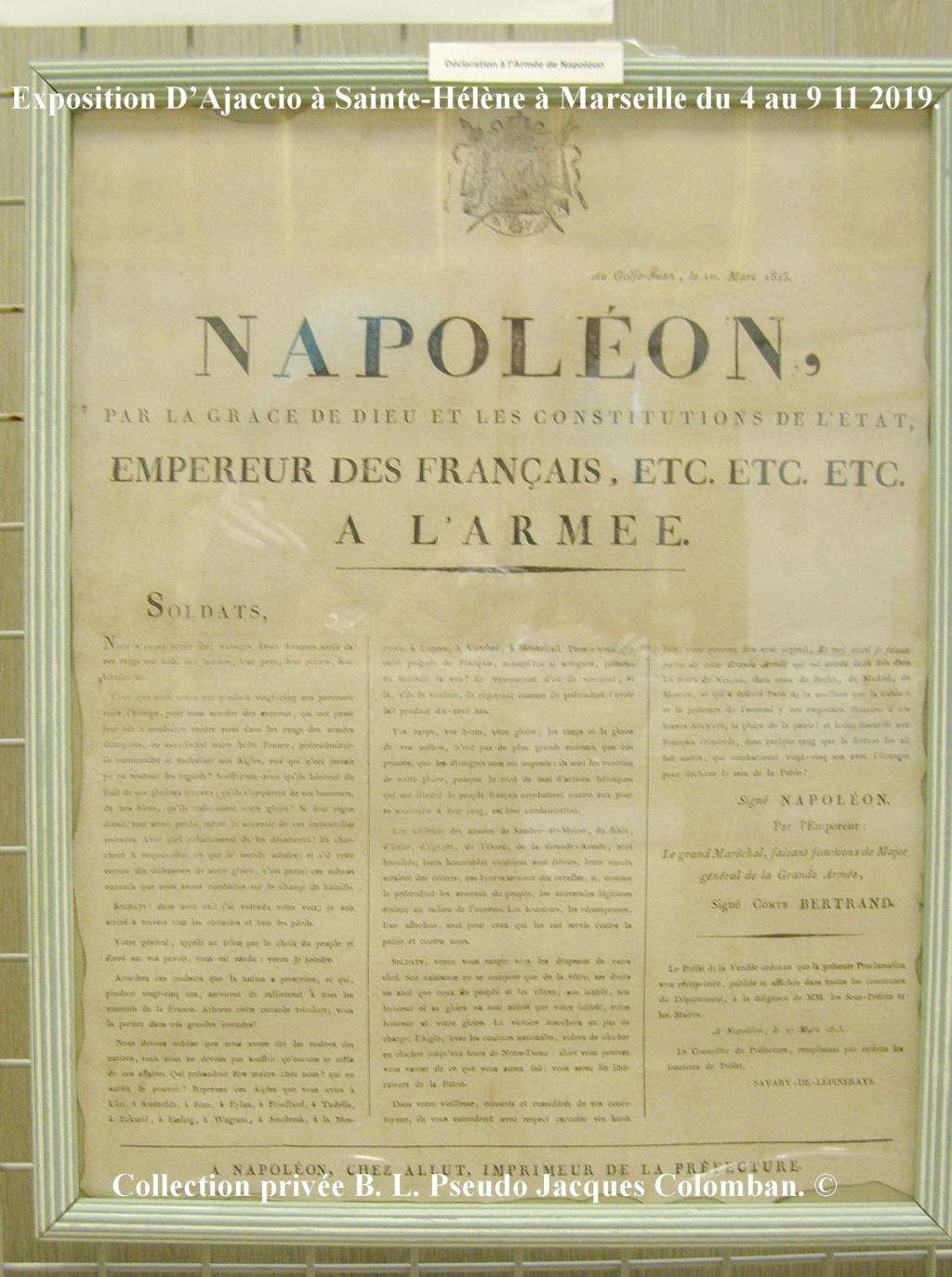 Exposition D'Ajaccio à Sainte-Hélène à Marseille. 2210