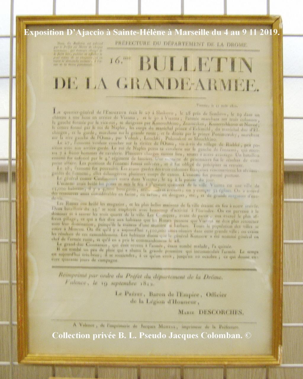 Exposition D'Ajaccio à Sainte-Hélène à Marseille. 2310