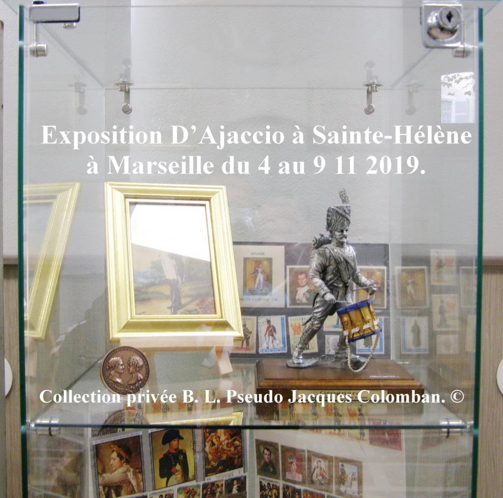 Exposition D'Ajaccio à Sainte-Hélène à Marseille. 2410