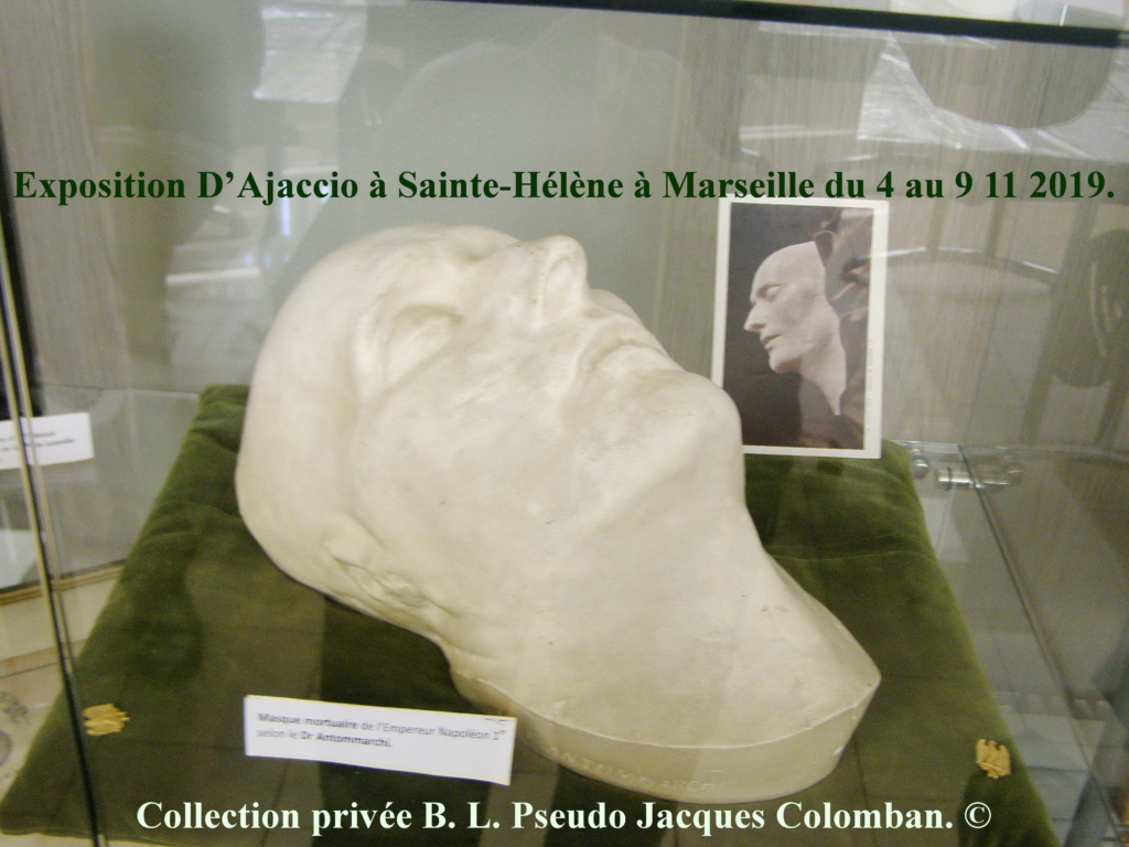 Exposition D'Ajaccio à Sainte-Hélène à Marseille. 2710