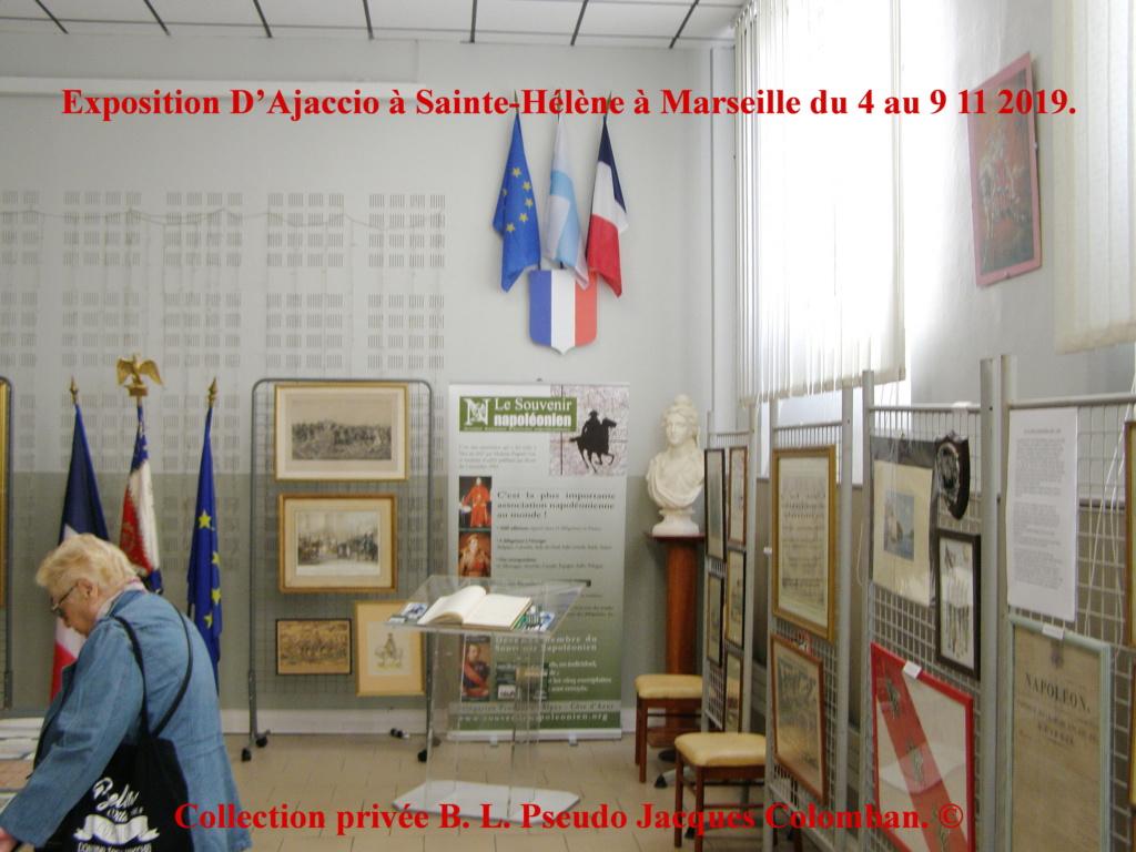 Exposition D'Ajaccio à Sainte-Hélène à Marseille. 310