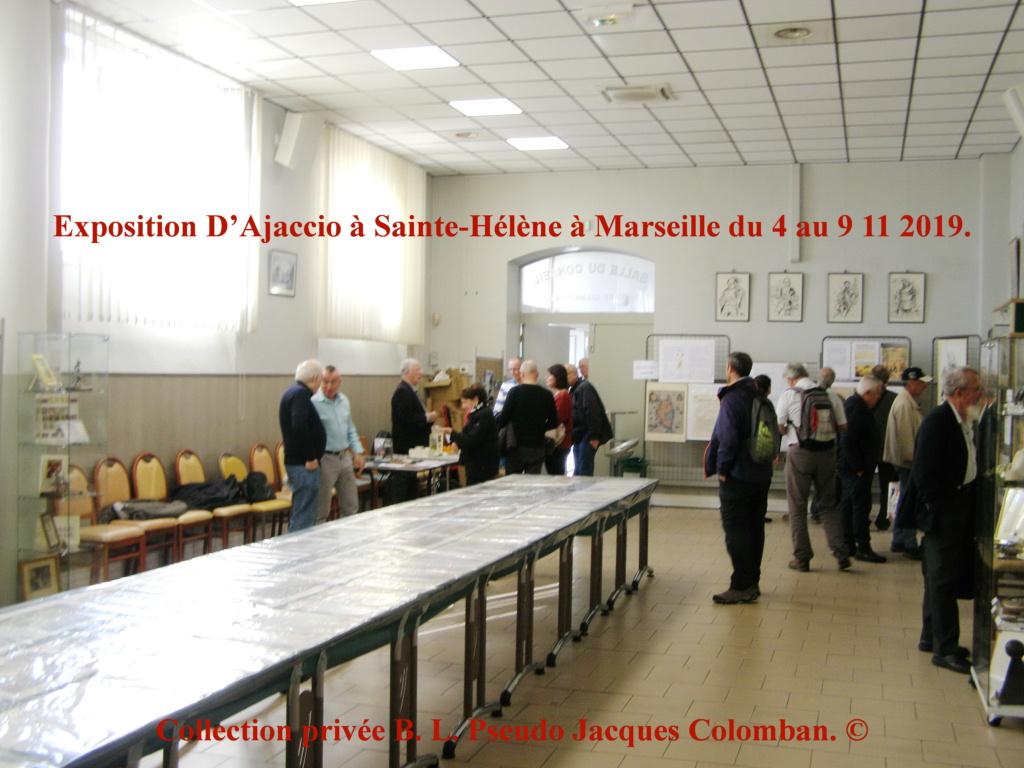 Exposition D'Ajaccio à Sainte-Hélène à Marseille. 410