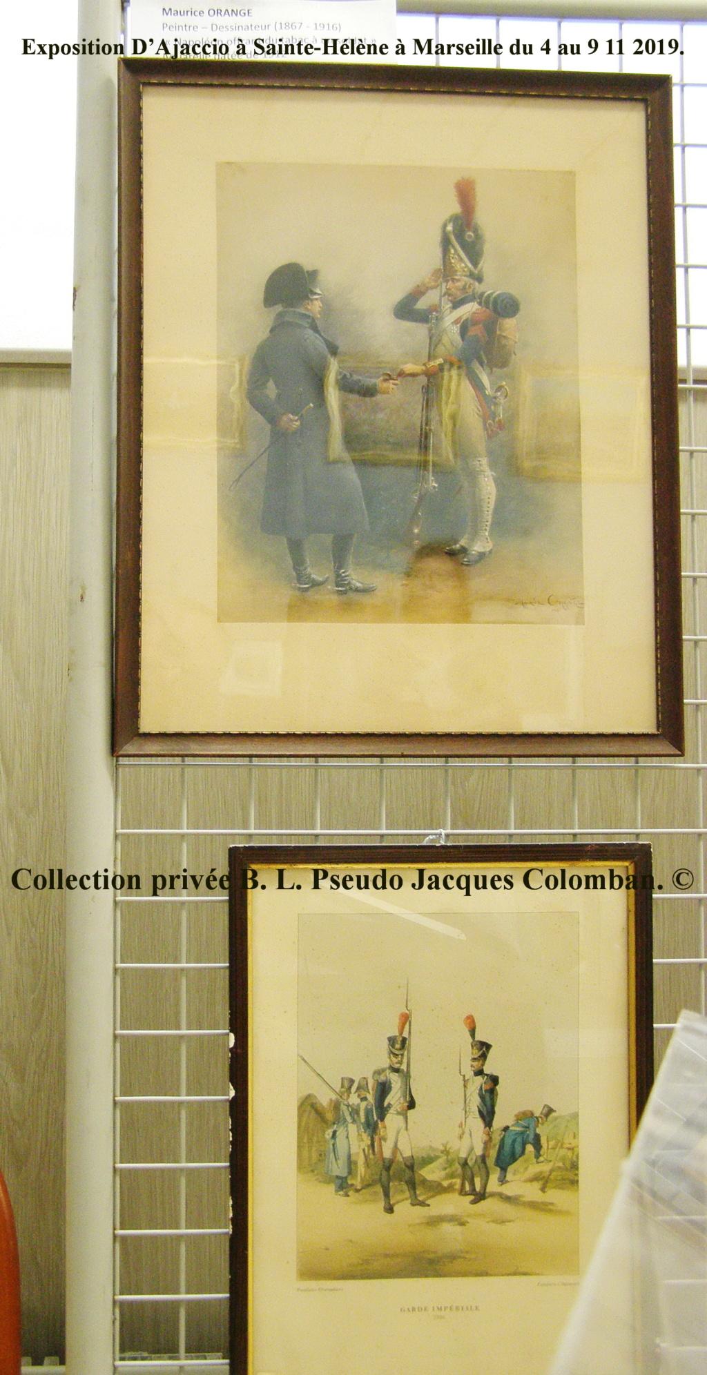 Exposition D'Ajaccio à Sainte-Hélène à Marseille. 610