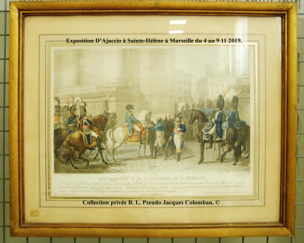 Exposition D'Ajaccio à Sainte-Hélène à Marseille. 710