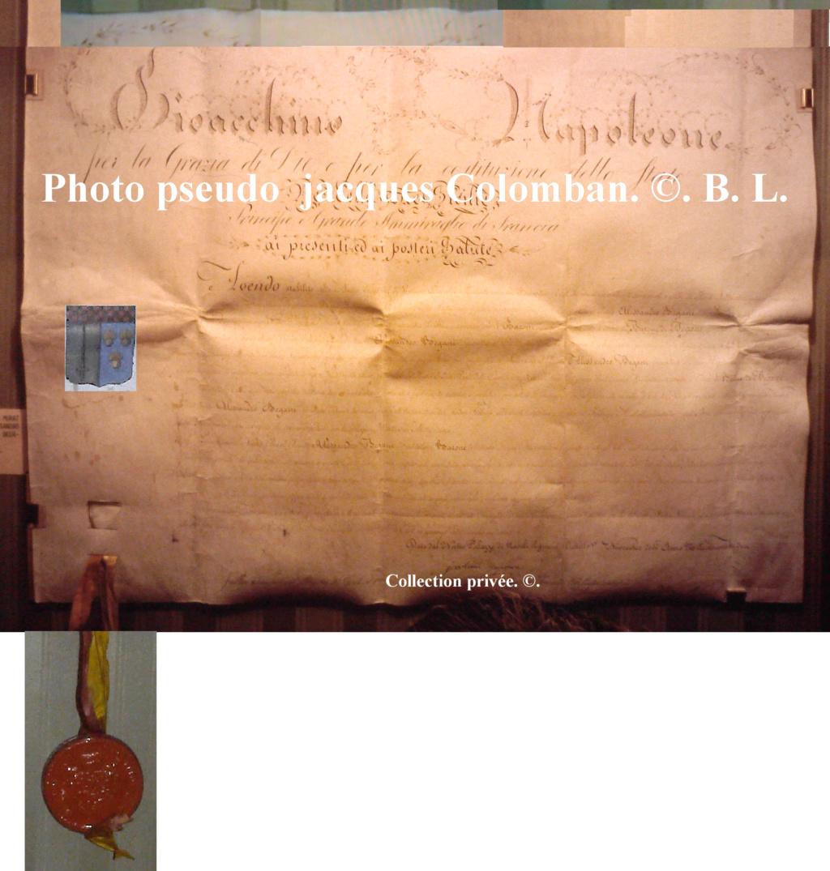 La noblesse napolitaine du Roi  Joachim Napoléon. Baron_11