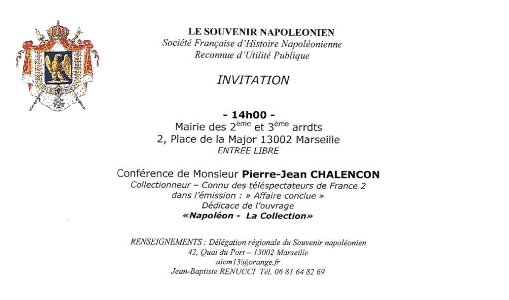 Publication du livre sur les objets de Napoléon - La collection, de Pierre-Jean Chalençon et David Chanteranne. Chalen10
