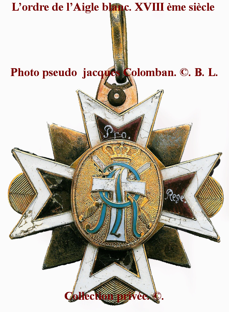 Les généraux de Napoléon 1er décorés des ordres Polonais. Ordre_11