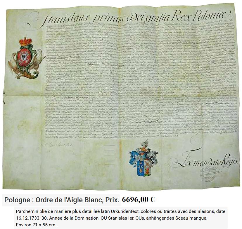 Les généraux de Napoléon 1er décorés des ordres Polonais. Ordre_12