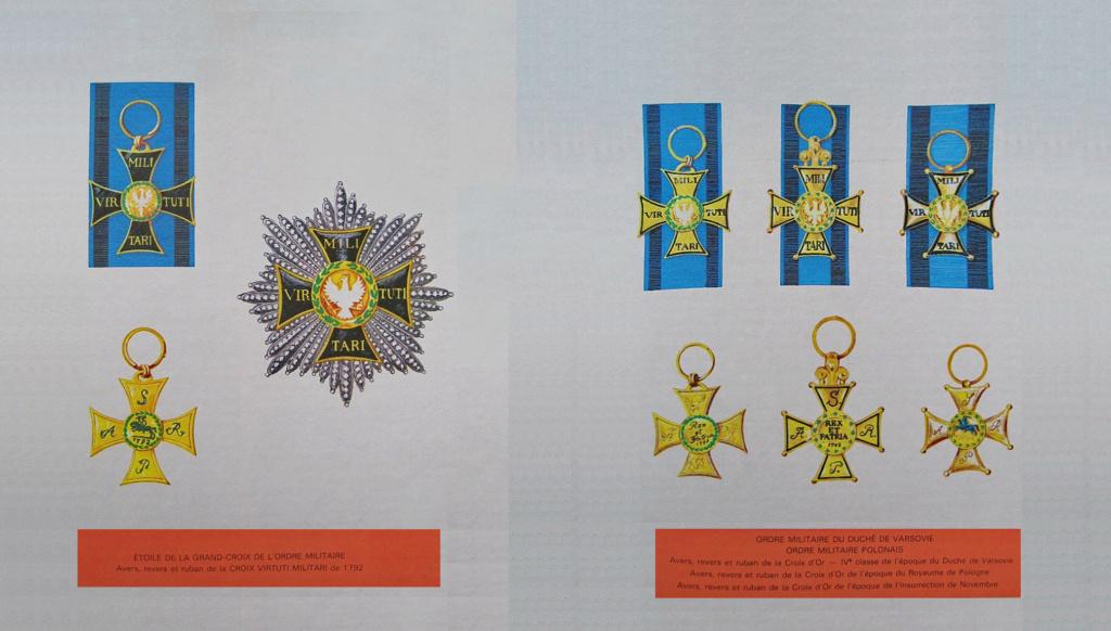 Les généraux de Napoléon 1er décorés des ordres Polonais. Ordre_16