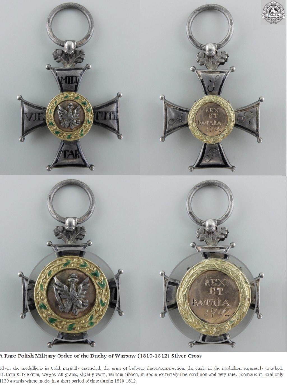 Les généraux de Napoléon 1er décorés des ordres Polonais. Pologn10