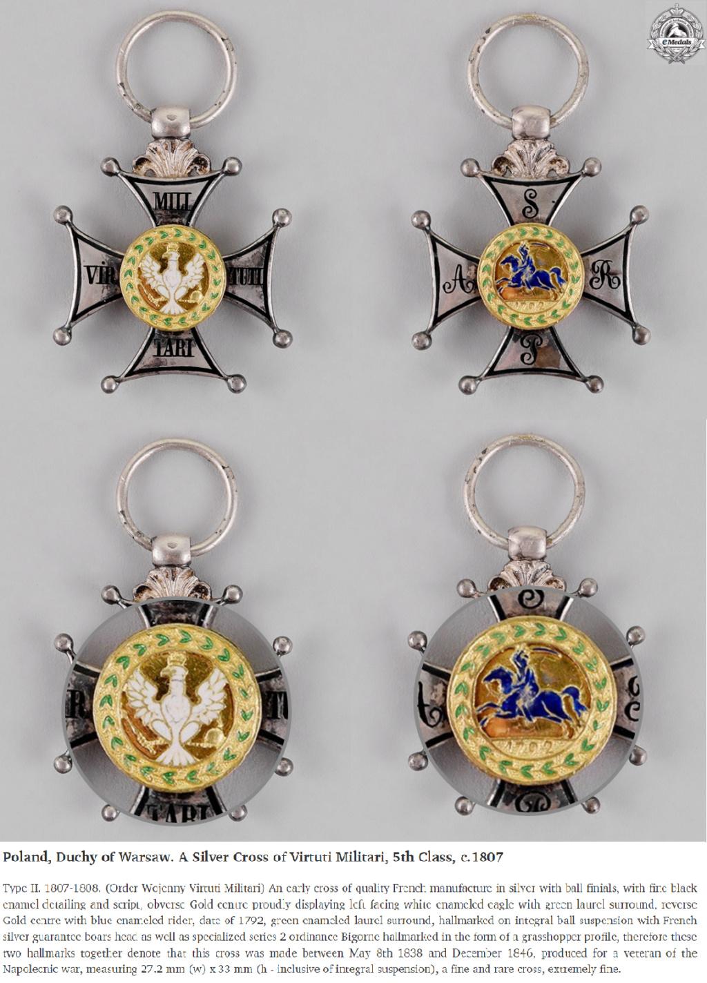 Les généraux de Napoléon 1er décorés des ordres Polonais. Vituti10