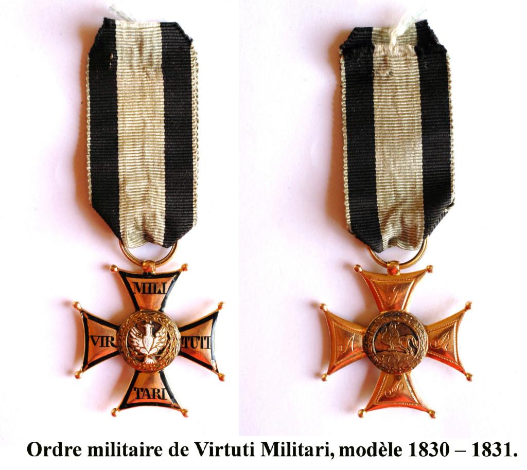 Les généraux de Napoléon 1er décorés des ordres Polonais. Vituti11