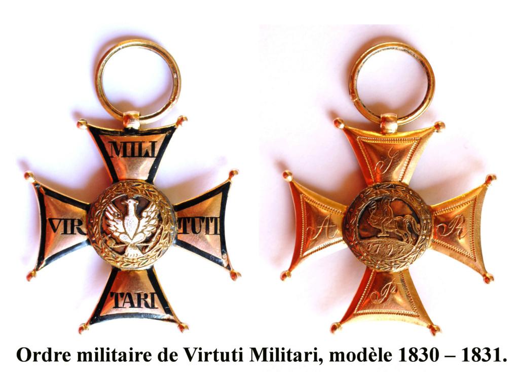 Les généraux de Napoléon 1er décorés des ordres Polonais. Vituti12