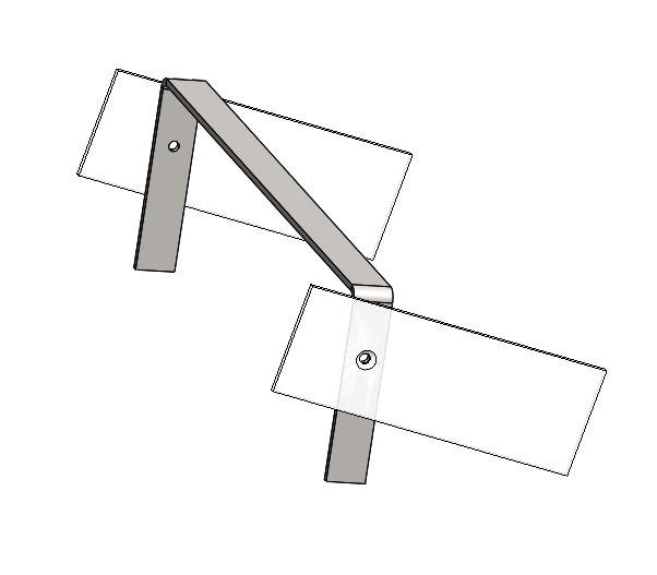 Fabrication + montage écarteur de sacoches cavalières Ecarte11