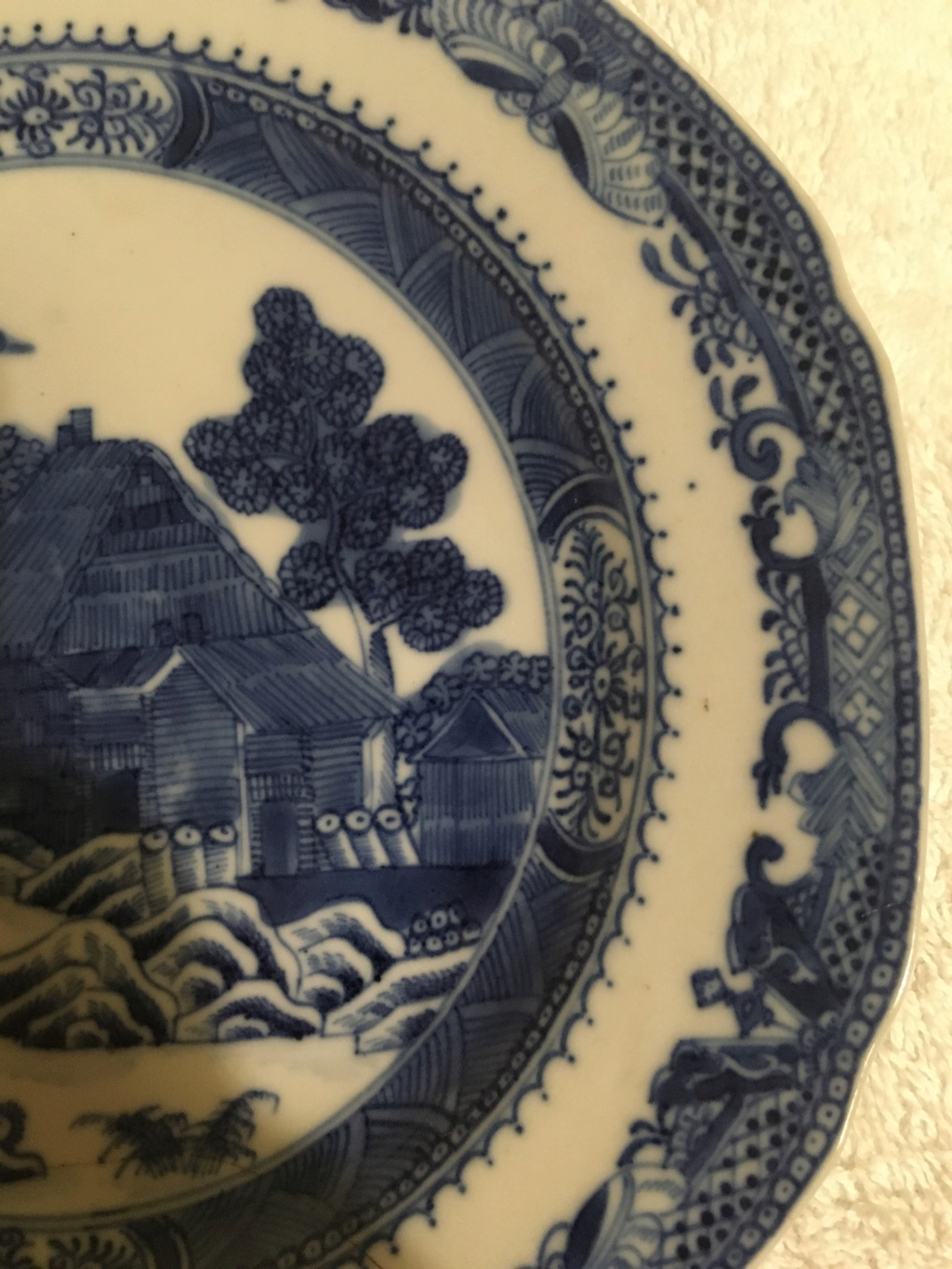 Chinese blue & white porcelain plate? 04df5c10