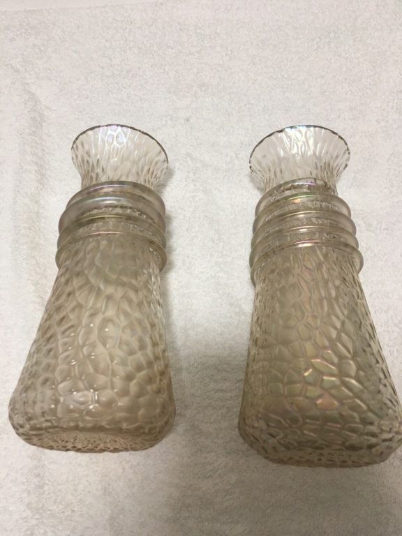 Please help ID iridescent glass vases....... 7822ba10